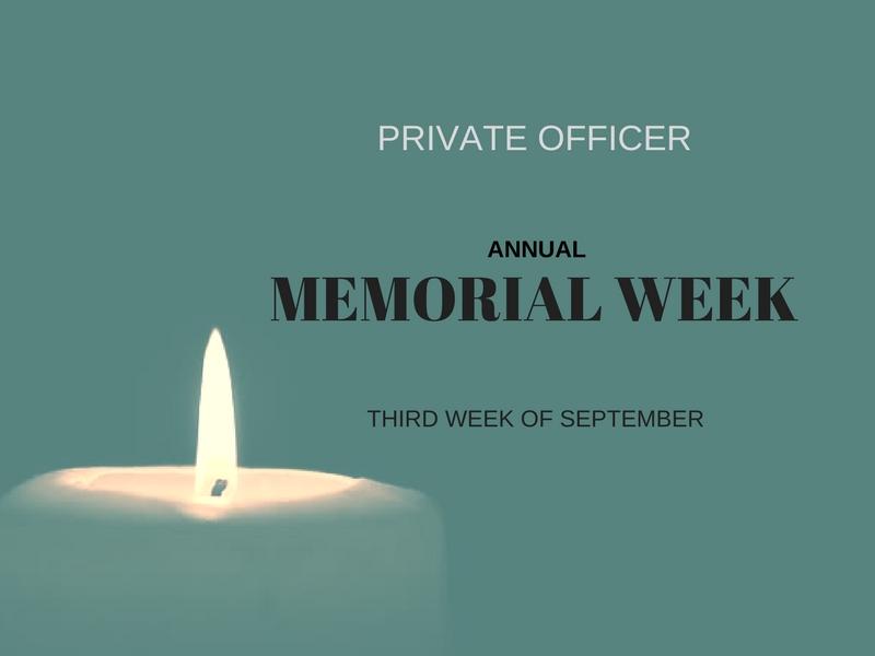 memorial week annual