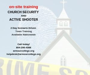 church sec training