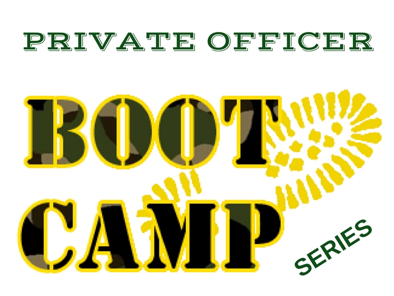 POI boot camp series