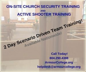 church sec and active shooter training