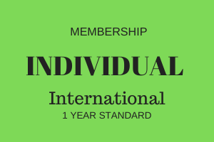 Individual Membership - International - 1 Year