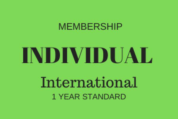 Individual Membership - International - 1 Year
