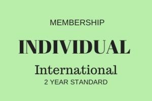 Individual Membership - International - 2 years