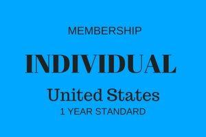 Individual Membership - United States - 1 Year