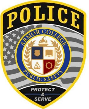 Armour College Police Patch